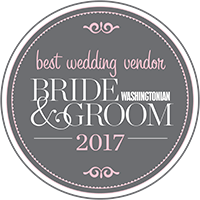 Washingtonian Bride & Groom Best Wedding Vendor 2017
