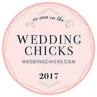 As Seen on The Wedding Chicks