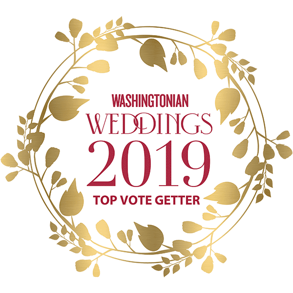 Washingtonian Weddings Top Vote Getter 2019